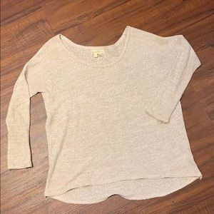 Urban Outfitters Flowy Crew Knit